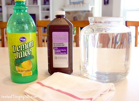 How to Get Rid of Heavy-Duty Stains with This Safer DIY Bleach Alternative