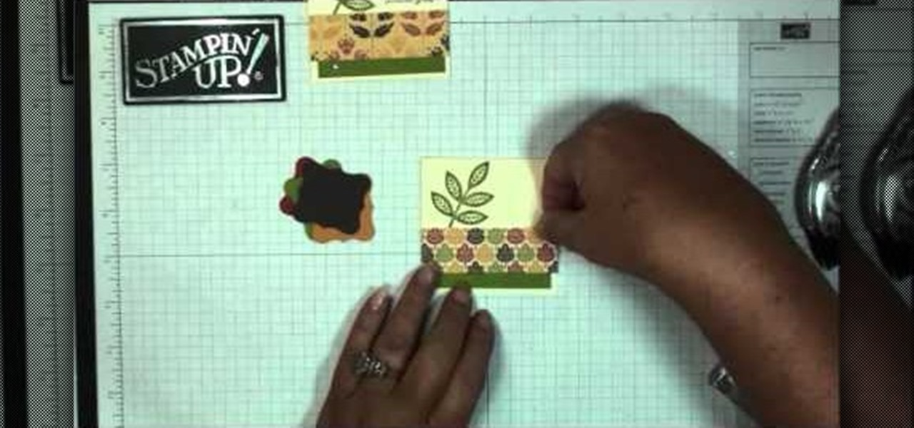 how to make your own autumn themed thank you note cards stencils stamps wonderhowto - Make Your Own Thank You Cards