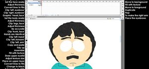 Create your own episode of South Park using Flash CS4