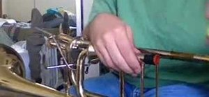 Make strange noises witrh a trombone