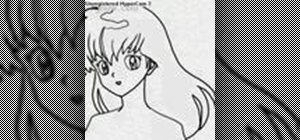 Draw Kagome Higurashi from InuYasha