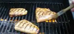 Grill salmon perfectly