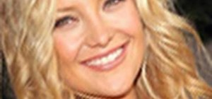 Get sexy, wavy Kate Hudson hair with Enzo Milano