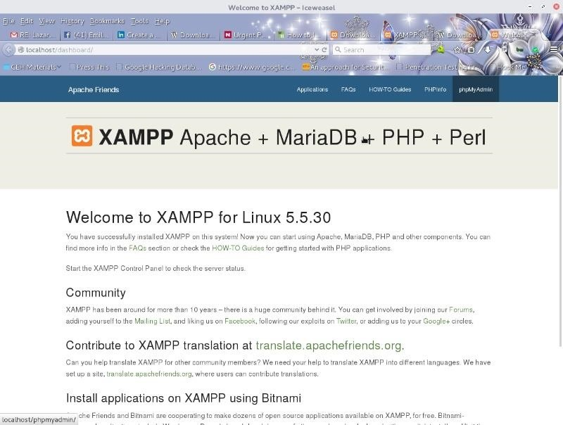 How to Set Up a Pentesting Lab Using XAMPP to Practice Hacking Common Web Applications