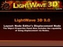 Use displacement maps via nodes in Lightwave 3D 9