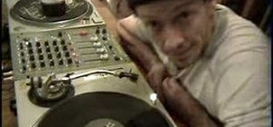 Play a record backwards on a Technics sl1200