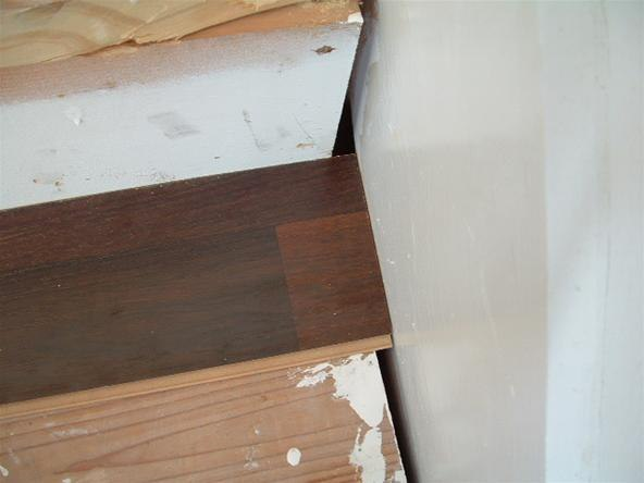 28.50 Harmonics Quarter Round or two rooms of laminate flooring. Much ...