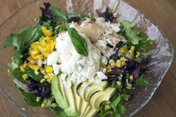 How to Make Crab Salad with Savory Basil Sherbet « LXRCUISINE