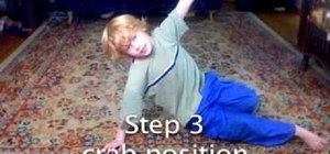 Do the six-step breakdance move