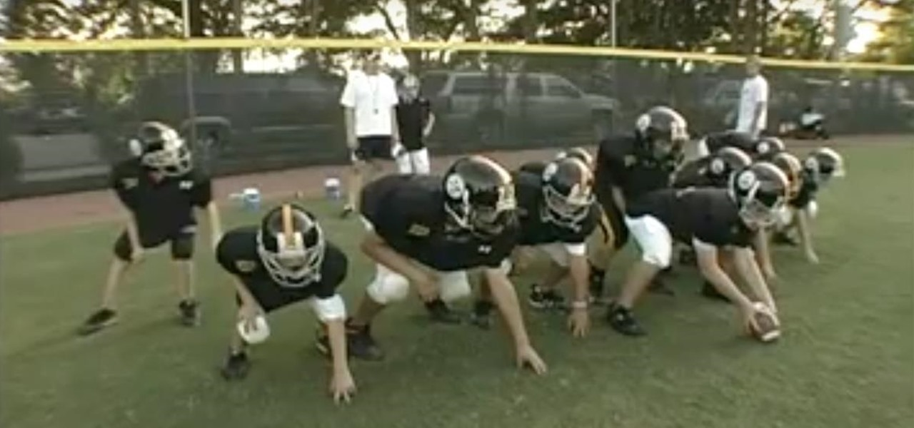 Do the Double Wing Offense for Youth/Pee-Wee Football