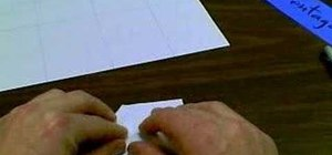 Fold a pentagon out of paper