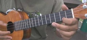 Warm up your thumb and index finger when playing the ukulele