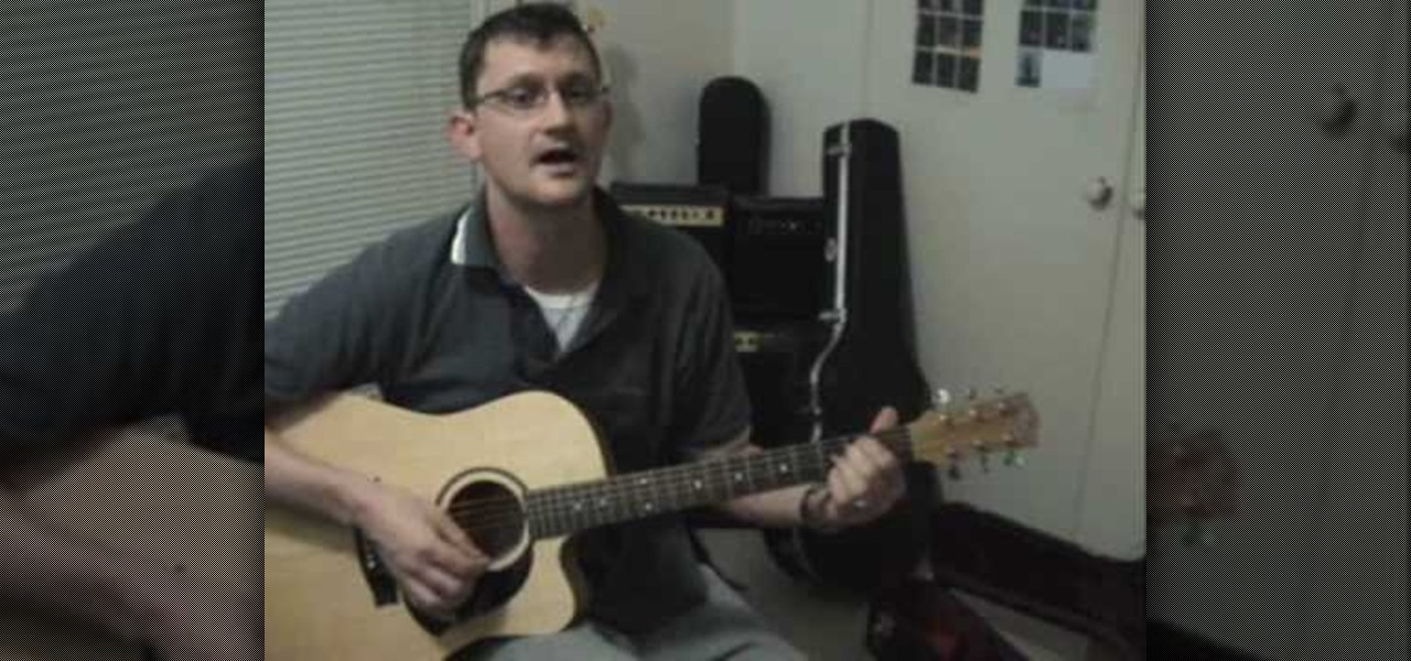 How To Play Last Kiss By Pearl Jam On Acoustic Guitar Acoustic