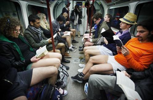 The 2011 No-Pants Subway Ride