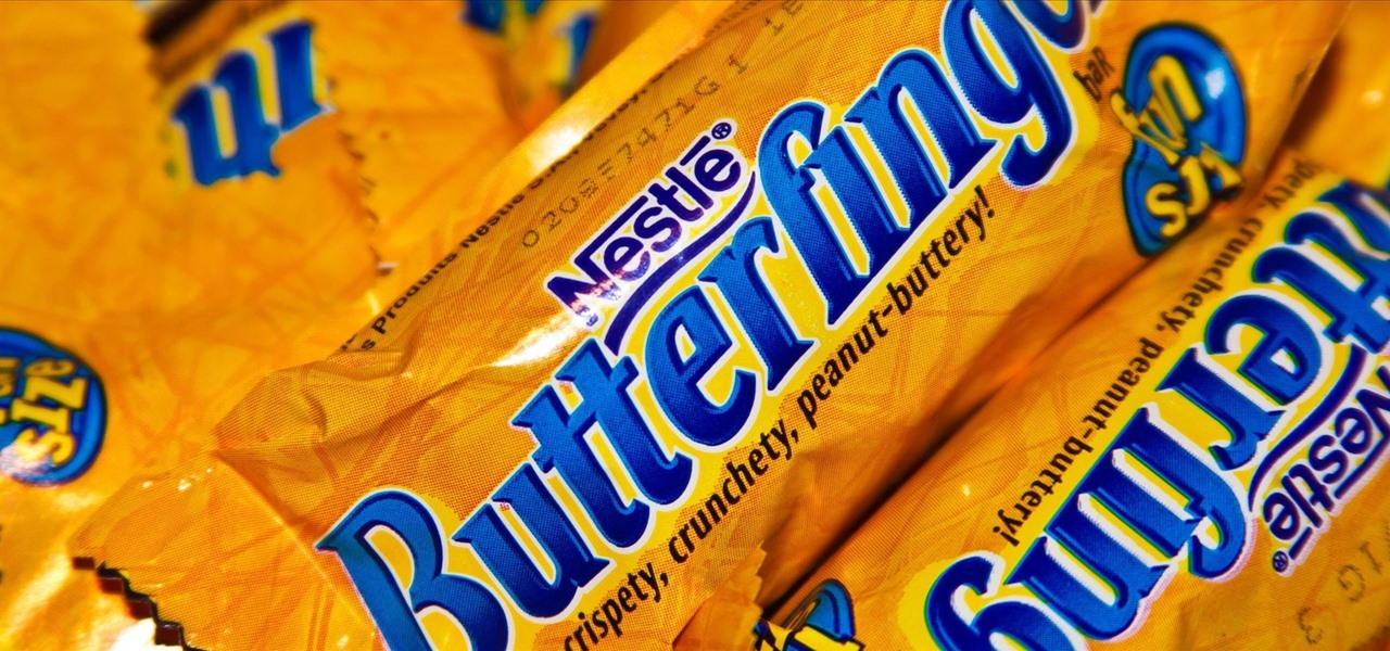Make Your Own Nestlé-Style Butterfinger Candy Bars at Home