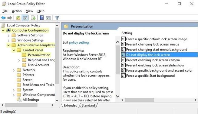 Cara Nonaktifkan Lock Screen Pada Windows 10 Ofamni
