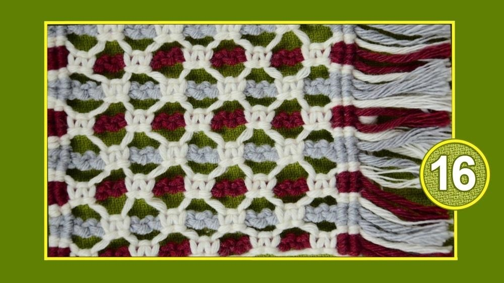Macrame ABC - Pattern Sample #16