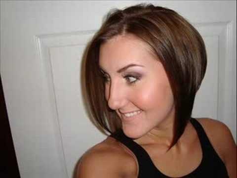 Style a bob hair cut