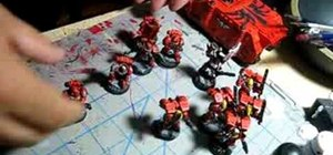 Choose a space marine army for Warhammer 40k