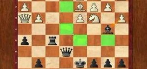 Win the chess endgame with a queen sacrifice
