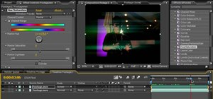 Create light streaks in After Effects