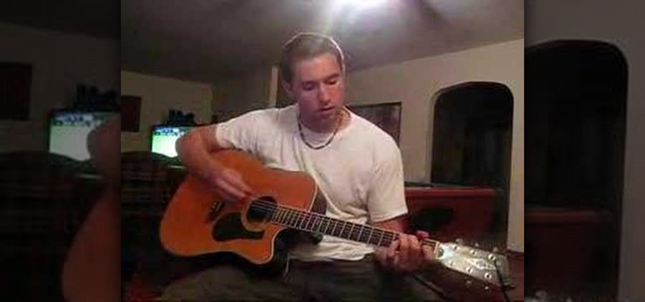 How To Play Runaway Train By Soul Asylum On Acoustic Guitar