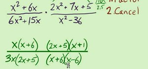 Multiple and divide rational expressions