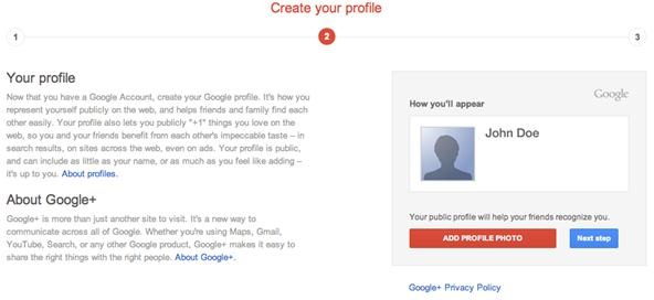 How to Create a Gmail or Google Account Without a Google+ Profile