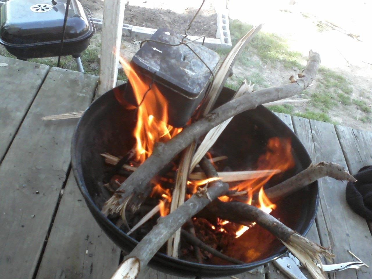 how to make your own charcoal survival training wonderhowto