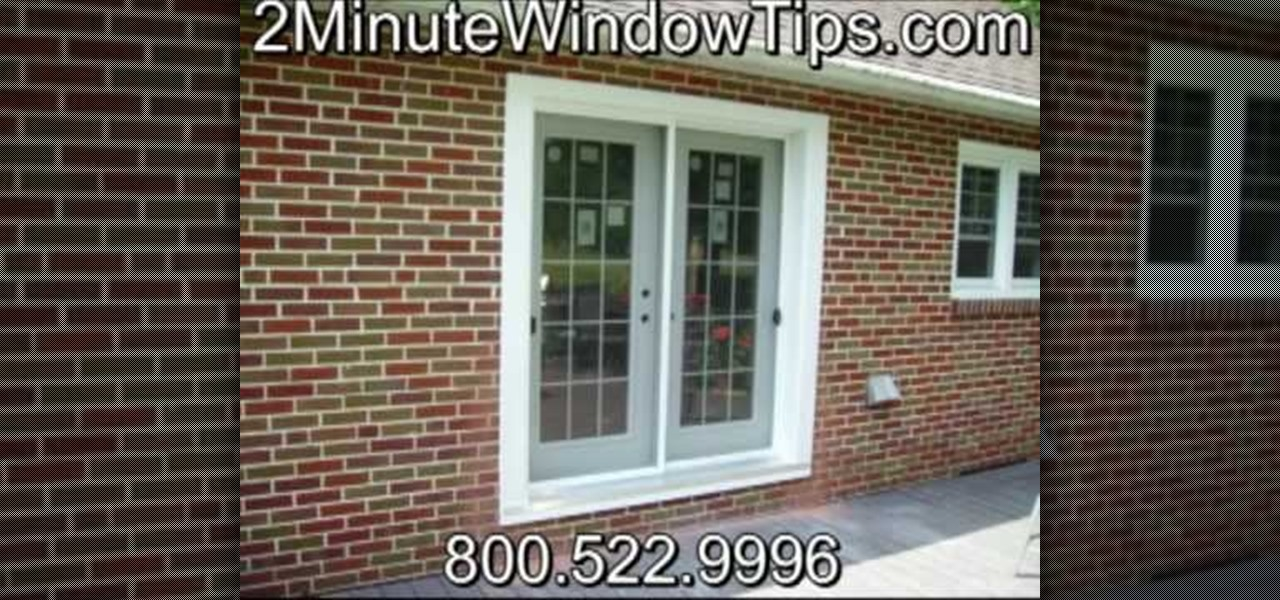 How To Install Patio Doors In A Brick Wall Construction Repair