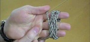 Tie a Turk's Head knot
