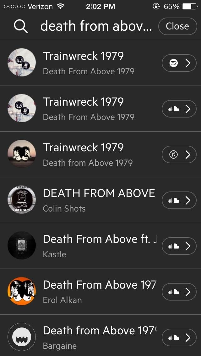 Share Songs from Any Music Service on Your iPhone to Anyone Using Craaave for iOS