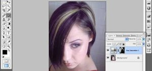 Change a person's hair color in Photoshop