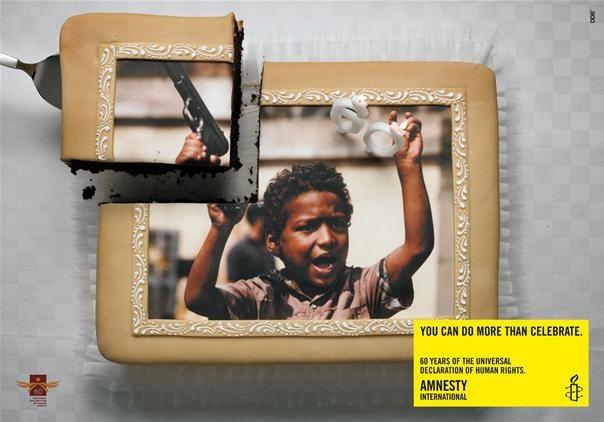 Amnesty International Does Cake.