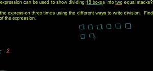 Solve word problems involving the division of whole numbers