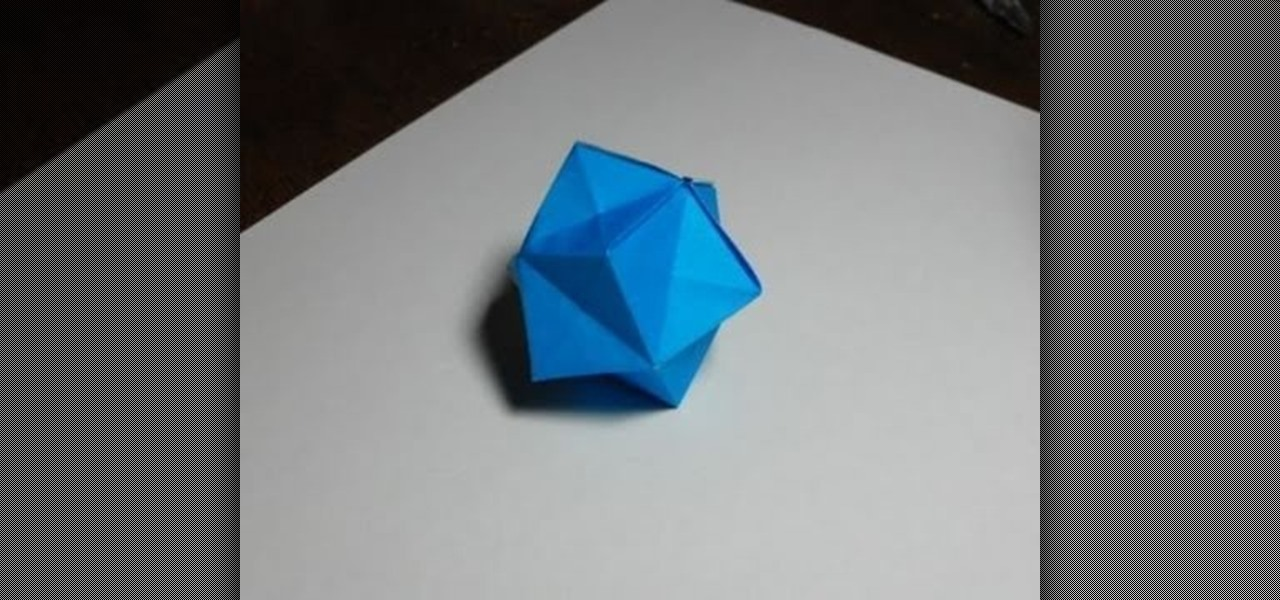 How to Make an easy origami ball « Origami