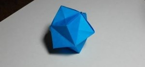 Make an easy origami ball