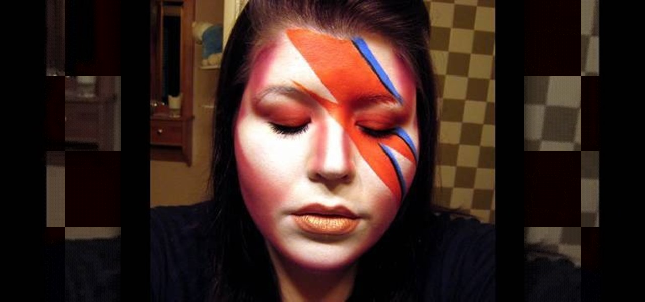 How to Do David Bowie-like inspired makeup « Makeup