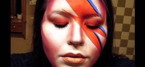 Do David Bowie-like inspired makeup
