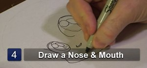 Draw a Chibi-style anime face