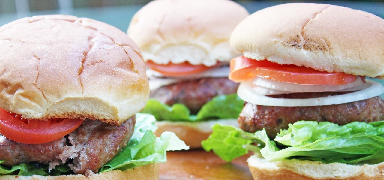 Trick Beef Lovers into Eating Your Turkey Burgers