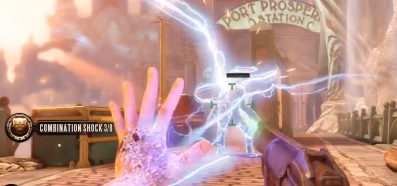 "Earn the ""Combination Shock"" Achievement in BioShock: Infinite"