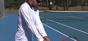 Properly execute the backhand in Tennis