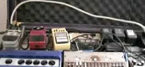 Simulate guitar effects on the harmonica