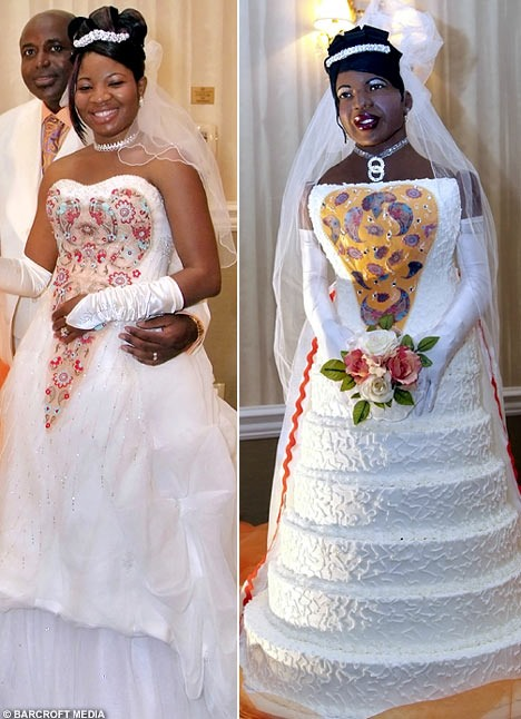Um, Wow. Best Wedding Cake Ever