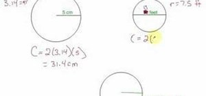 Find the circumference of a circle quickly