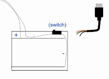 How to Hack Battery-powered Christmas Lights Into Laptop Holiday Decorations