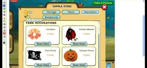 Use Cheat Engine to hack Fish World (10/29/09)