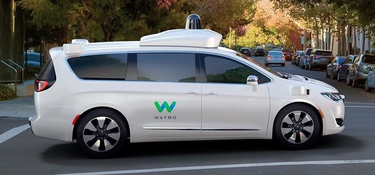 Google's New Self-Driving Car Spinout Waymo Debuts Their Fleet of 100 Chrysler Pacificas