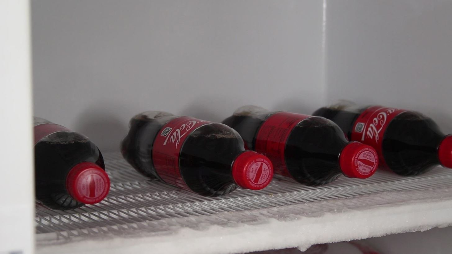How to Make a Self-Freezing Coca-Cola Slushy (Or Any Kind of Instant Soda Slurpee)